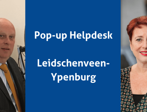 Pop-up Helpdesk heel december in Leidschenveen-Ypenburg